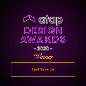 ATAP Design Awards 2020 - Best Service